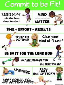 PE Poster: Comm... Elementary Pe Quotes