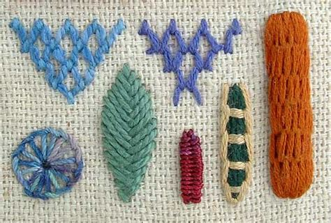 Crazy Stitch Embroidery Stitches