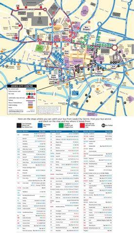 leeds maps uk maps  leeds