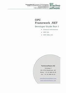 Opc Framework  Net