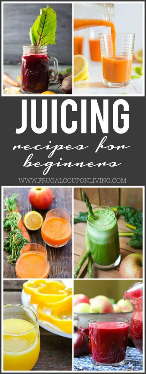 recipes juicing juice beginner healthy popular sick fat juices documentary inspiration diy juicer frugalcouponliving juicers nearl crafts frugal coupon living