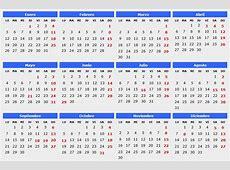 2015 Archives Calendario 2015
