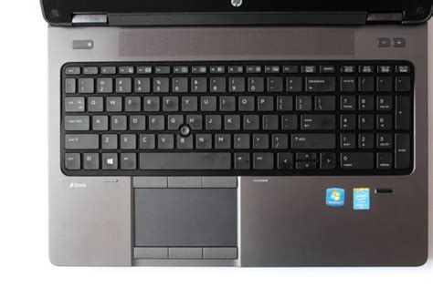 HP ZBook 15 ? Keyboard, Trackpad, Configuration Options