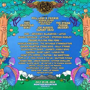 The Peach Music Festival Announces Massive 2019 Lineup