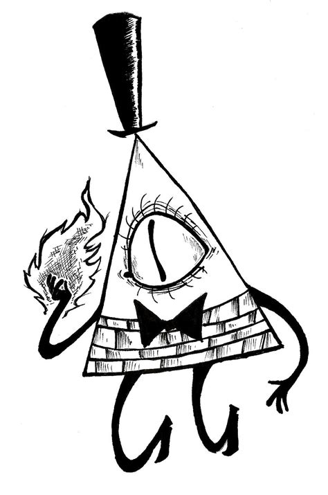 #bill #cipher #coloring #pages #2020 | Gravity falls art, Gravity falls bill, Gravity falls bill