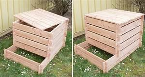 Composteur Pas Cher : fabriquer un composteur en bois ~ Preciouscoupons.com Idées de Décoration