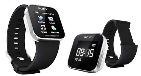 sony smart wrist    power  android mobile