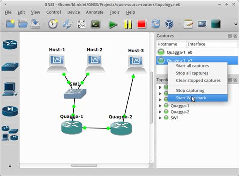 open source routers  gns open source routing