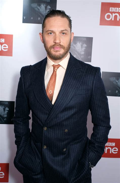 Tom Hardy Promotes Taboo Esquire Cover Profile