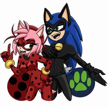 Sonamy Ladynoir Deviantart Fanart Sonic Favourites Chat