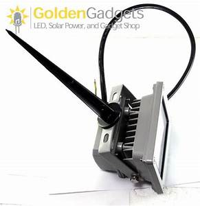 Ground stakes for outdoor led flood lights