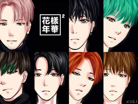 Bts Anime Deviantart In The Mood For Pt2 Bts 1 By Xogichan On Deviantart