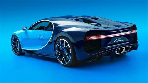 The Bugatti Chiron Is The World's Newest, Fastest Car