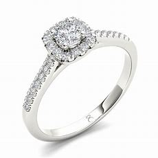 14k White Gold My Diamond Story Bridal Ring 40ctw Ben