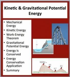 Kinetic  U0026 Gravitational Potential Energy
