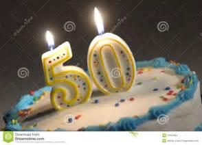 Happy 50th Birthday Cake