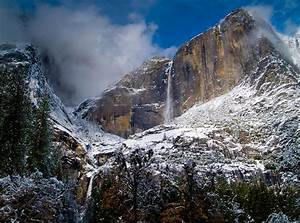Winter At Yosemite Falls Photograph by Bill Gallagher