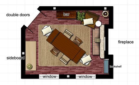dining room floor plans dining room floor plan learning is social