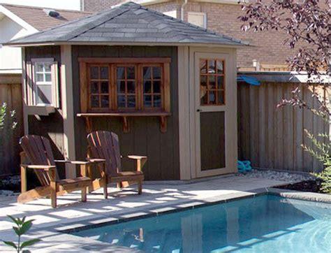 pool sheds with bars 5 sided cabana duroshed