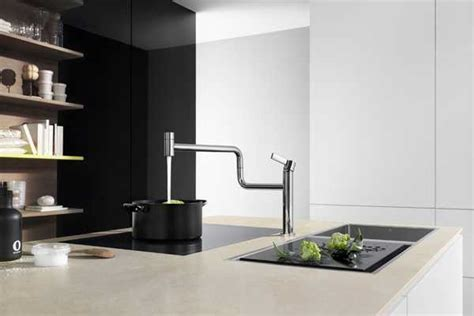 Kitchen faucets   art in the modern kitchen design