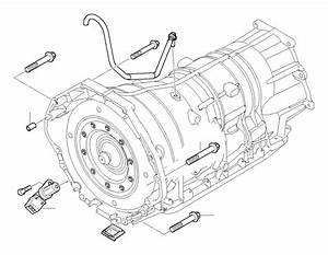 Bmw 745li Crankshaft Speed Sensor  Mounting  Gearbox