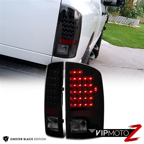 2006 Dodge Ram 1500 Lights by Sinister Black 2002 2006 Dodge Ram 1500 2500 3500 Smoke