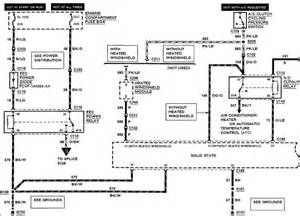 Wiring Diagram For 1992 Mercury Grand Marquis