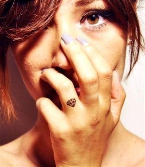 diamant finger niedlich diamant designs 187 tattoosideen