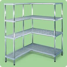 scaffali metallici componibili on line artinox infix scaffali componibili in acciaio inox eco