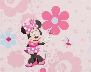 Papier Peint Petite Fille : minnie rouleau de papier peint n 39 en reste qu 39 un ~ Dailycaller-alerts.com Idées de Décoration