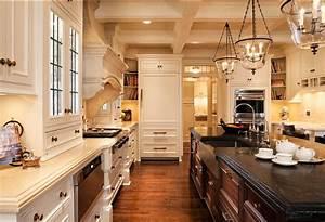 Traditional Off White Kitchen Design Home Bunch Interior