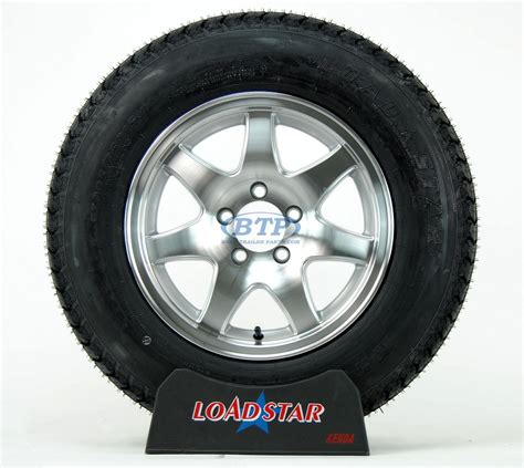Aluminum Boat Trailer Wheels And Tires by Boat Trailer Tire St205 75d15 On Aluminum Wheel 7 Spoke 5