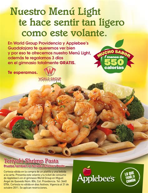 applebee s light menu index of cliente applebees applejal flyer menu light