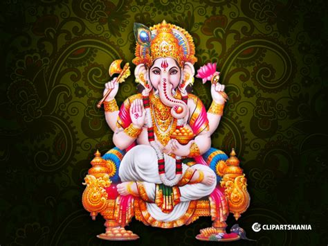 Vinayagar Animation Wallpaper - vinayagar god wallpapers pillayar god desktop wallpapers