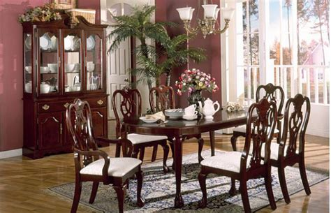 cherry dining room set traditional dining room sets cherry furniture design blogmetro