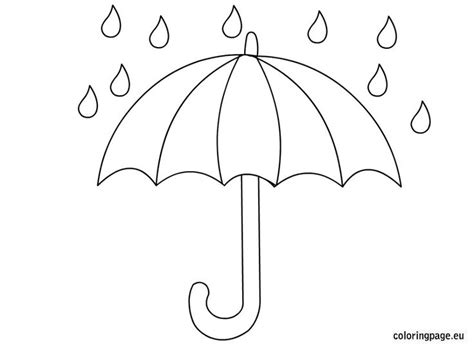 related coloring pagesopen umbrellaumbrella coloring pages 736 | d757c712c85289e0731d57a5bc4faff3 preschool crafts umbrellas