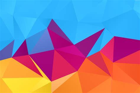 Background Abstract Shapes Png by Abstract Geometric Background Vector Psdgraphics