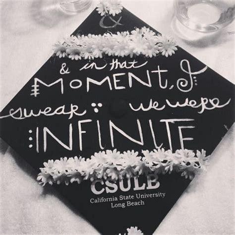 graduation cap grad perks wallflower being senior google