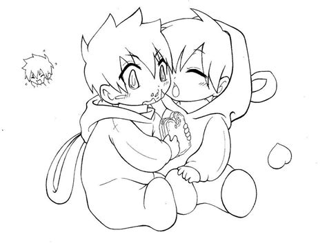 Chibi Body Coloring Pages