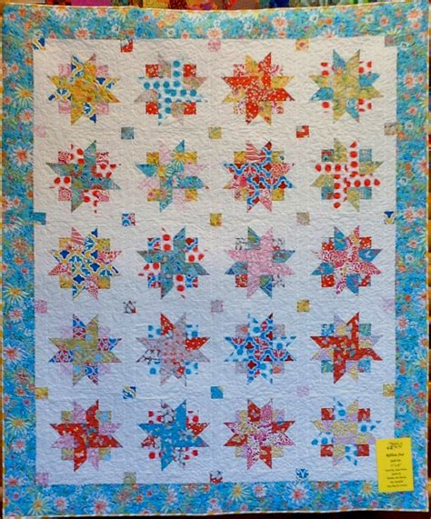home design magazines ribbon quilt kit 75 x 85