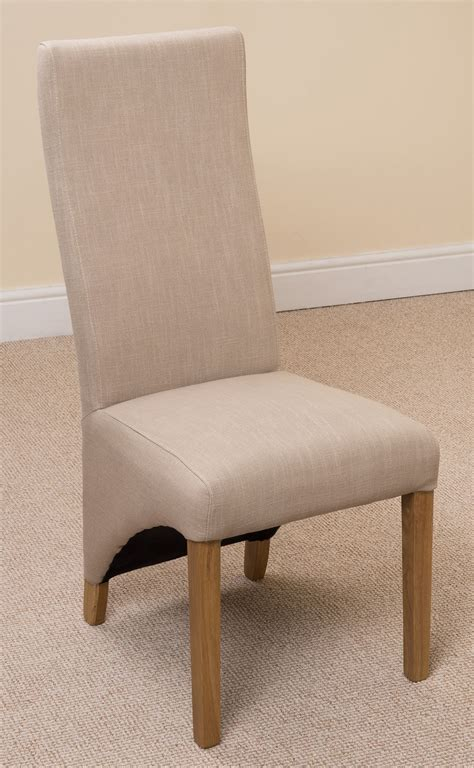 lola curved back fabric dining room kitchen chairs