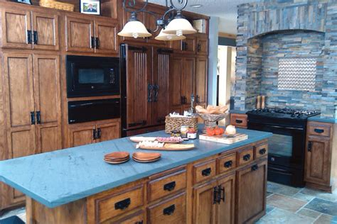 Blue Countertop by Slate Countertops For Your Kitchen And Bathroom
