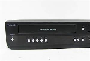 Funai Zv427fx4 Vhs To Dvd Recorder Combo Player W   Box
