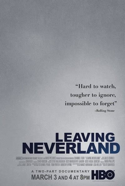 leaving neverland  review  roger ebert