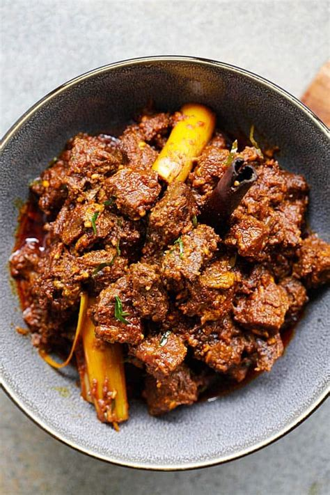 Beef Rendang | Easy Delicious Recipes