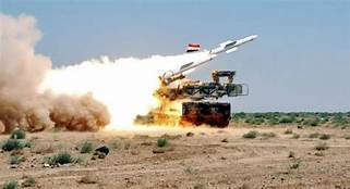 Syrian air defense downs several 'enemy targets' in southern Syria…