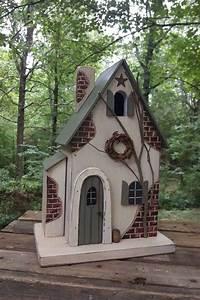 Fairy, House, Functional, Birdhouse, Fairy, Cottage