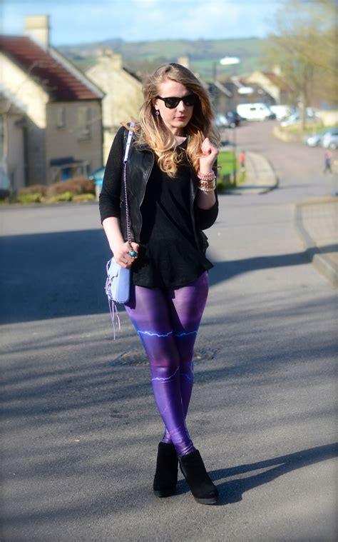 Purple-black-outfit-leggings u2013 Raindrops of Sapphire