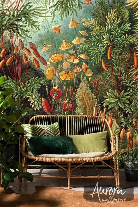 amazonian jungle removable wallpaper repositionable peel