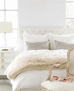 25 modern ideas for white bedroom decorating With all white bedroom decorating ideas